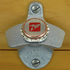 7UP SEVEN UP BOTTLE CAP Starr X Wall Mount Bottle Opener