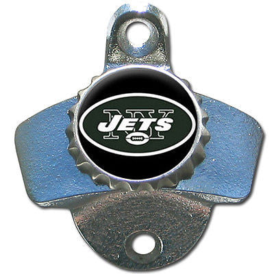 New York NY Jets Wall Mount Bottle Opener NFL