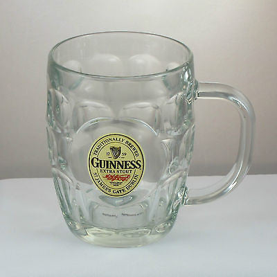 Guinness Glass Hobnail Tankard, Imperial Pint (20 oz)