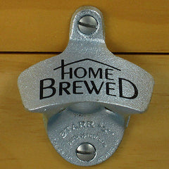 HOME BREWED Beer Starr X Wall Mount Bottle Opener