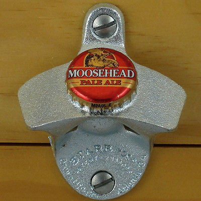 Moosehead Red Pale Ale Wall Mount Bottle Opener