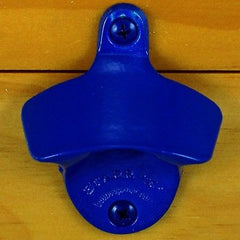 Blue PLAIN Powder Coated Starr X Wall Mount Bottle Opener