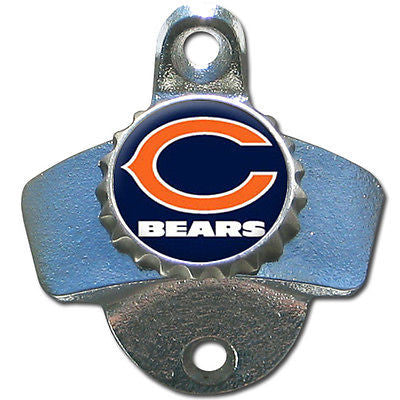 Chicago Bears Wall Mount Bottle Opener NFL