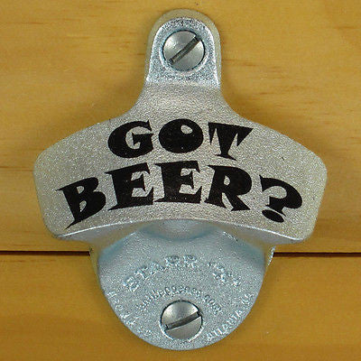 Got Beer Starr X wall Mount Bottle Opener