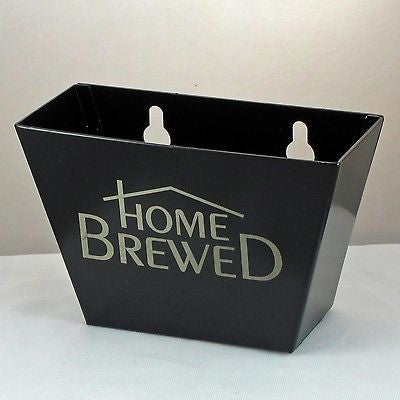 Black Home Brewed Cap Catcher, Aluminum