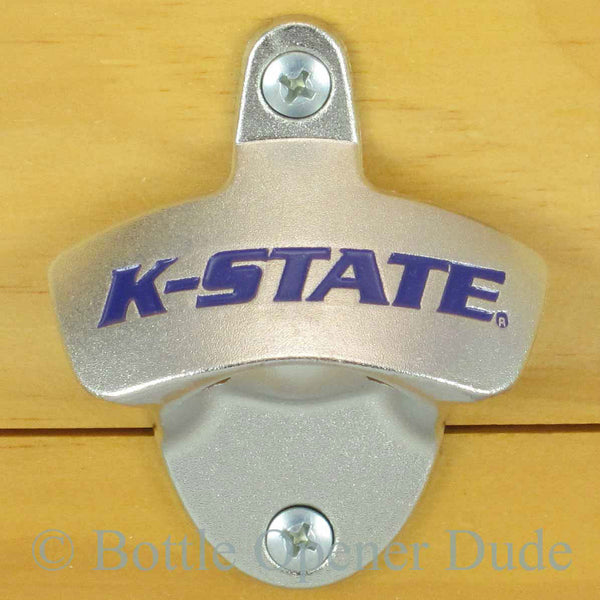Kansas State Wildcats Wall Mount Bottle Opener