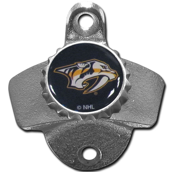 Nashville Predators Wall Mount Bottle Opener NHL