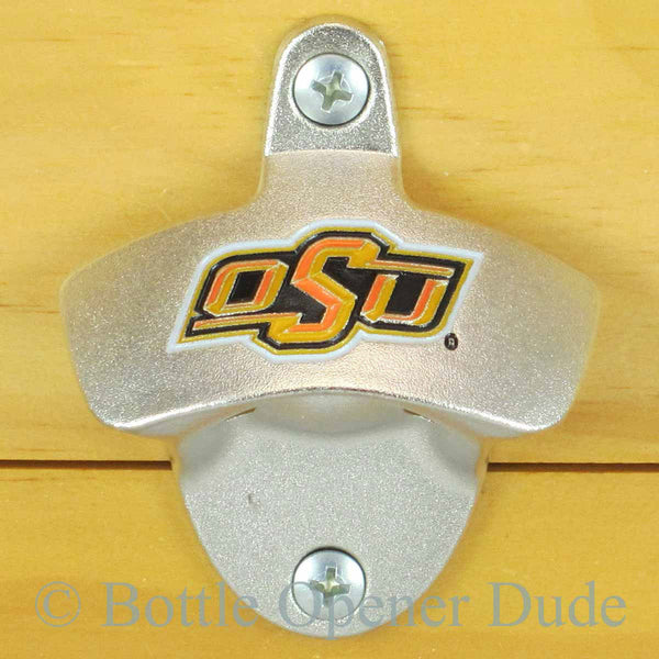 Oklahoma State Cowboys OSU Wall Mount Bottle Opener