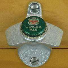 CANADA DRY GINGER ALE BOTTLE CAP Wall Mount Bottle Opener