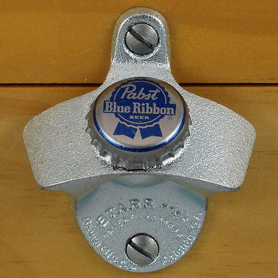 Past Blue Ribbon 70's Wall Mount Bottle Opener