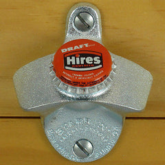 HIRES ROOT BEER BOTTLE CAP Starr X Wall Mount Opener