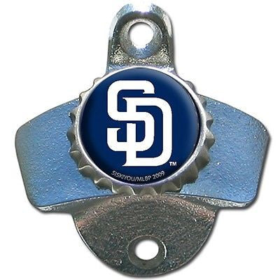 San Diego Padres Wall Mount Bottle Opener MLB