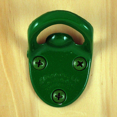 Light Green Cavalier type Wall Mount Bottle Opener