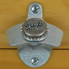 BARQ'S ROOT BEER BOTTLE CAP Starr X Wall Mount Opener