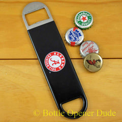 Alabama Crimson Tide SPEED, BAR BLADE Bottle Opener, Vinyl Coated BAMA, NCAA