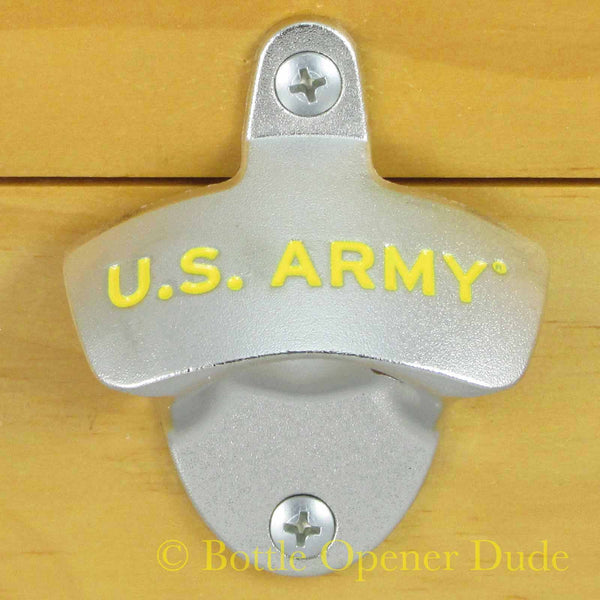 US Army Wall Mount Bottle Opener