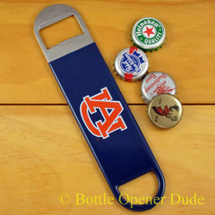 Auburn Tigers SPEED, BAR BLADE Bottle Opener, Vinyl Coated Steel AU, NCAA