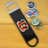 Cincinnati Bengals SPEED, BAR BLADE Bottle Opener Vinyl Coated Steel NFL