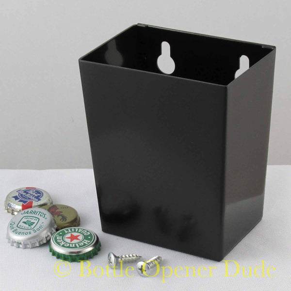 Small black Starr bottle cap catcher