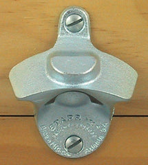 BOTTLE CAP MOUNT Plain Zinc Starr X Wall Mount Bottle Opener