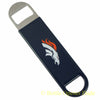 Denver Broncos SPEED, BAR BLADE Bottle Opener Vinyl Coated Steel NFL