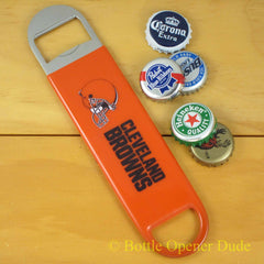 Cleveland Browns SPEED, BAR BLADE Bottle Opener Vinyl Coated Steel NFL