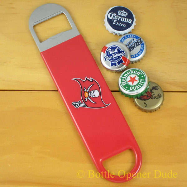 Tampa Bay Buccaneers Bucs NFL Speed Bottle Opener