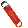 Budweiser Speed Bar Blade Opener, Vinyl Coated Open Your Bottles Like A Pro!