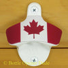 White CANADIAN FLAG Combo Starr X Wall Mount Bottle Opener Metal Catcher Canada
