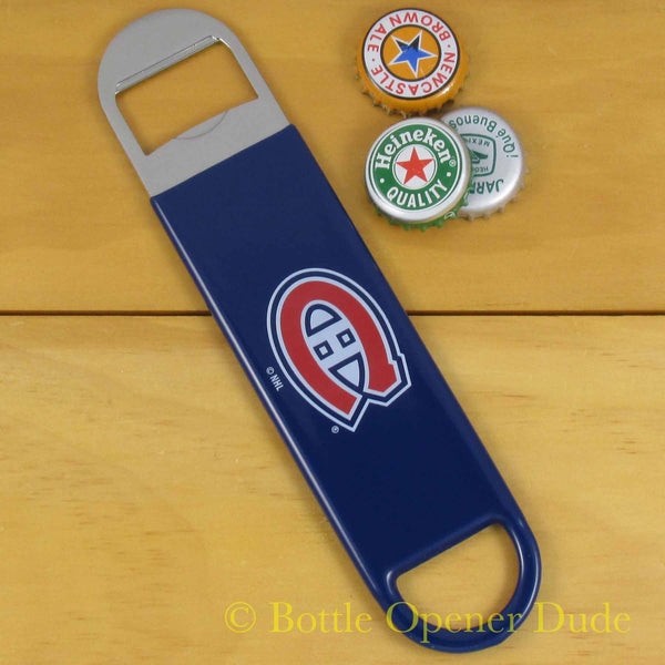 Montreal Canadiens NHL Speed Blade Bottle Opener