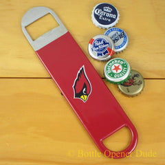 Arizona Cardinals SPEED, BAR BLADE Bottle Opener Vinyl Coated Steel NFL