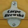 CARPE BREWSKI Starr X Wall Mount Stationary Bottle Opener - Seize The Beer!