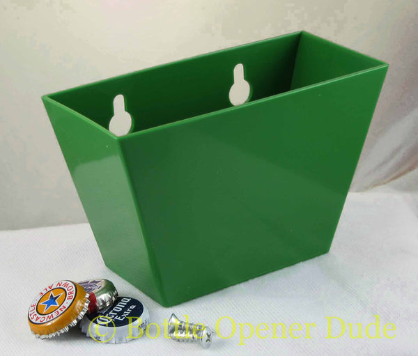 Green Plastic Cap Catcher for Starr X Bottle Openers
