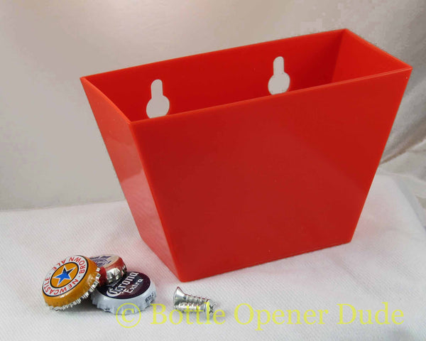 Red Plastic Cap Catcher for Starr X Bottle Openers