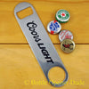 Coors Light Speed Bar Blade Opener, Steel, Open Your Bottles Like A Pro!