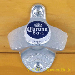 CORONA EXTRA Beer BOTTLE CAP Starr X Wall Mount Stationary Bottle Opener