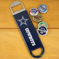 Dallas Cowboys SPEED, BAR BLADE Bottle Opener Vinyl Coated Steel NFL
