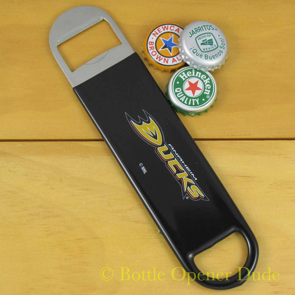 Anaheim Ducks SPEED, BAR BLADE Bottle Opener Vinyl Coated Steel NHL
