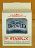 Home Brewed Starr X Cast Iron Bottle Opener