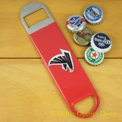 Atlanta Falcons SPEED, BAR BLADE Bottle Opener Vinyl Coated Steel NFL