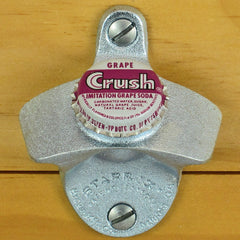 GRAPE CRUSH BOTTLE CAP Starr X Wall Mount Opener