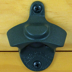 Dark Green Plain BOTTLE CAP MOUNT Starr X Wall Mount Bottle Opener Powder Coated NEW!
