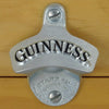 Guinness Combo Starr X Wall Mount Bottle Opener / Stainless Cap Catcher Set