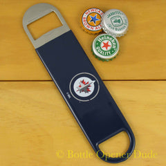Winnipeg Jets SPEED, BAR BLADE Bottle Opener Vinyl Coated Steel NHL