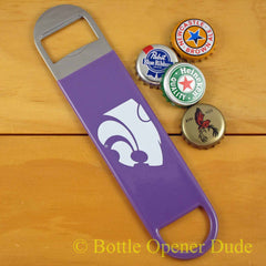 Kansas State Wildcats SPEED, BAR BLADE Bottle Opener Vinyl Coated K-State NCAA