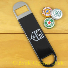 LA Los Angeles Kings SPEED, BAR BLADE Bottle Opener Vinyl Coated Steel NHL
