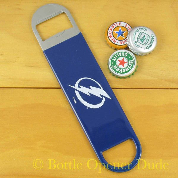 Tampa Bay Lightning Bar Blade Bottle Opener