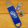 Miller Lite Speed Bar Blade Opener, Vinyl Coated Open Your Bottles Like A Pro!