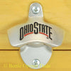 Ohio State Buckeyes Wall Mount Bottle Opener Zinc Alloy NCAA Licensed