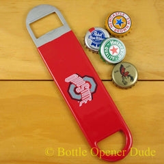 Ohio State Buckeyes SPEED, BAR BLADE Bottle Opener Vinyl Coated Steel NCAA